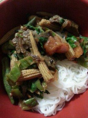Beefy Noodle FoodPorn