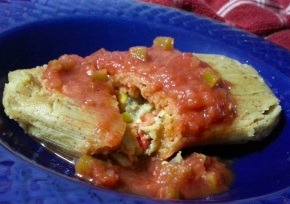 Easy Chicken Tamale