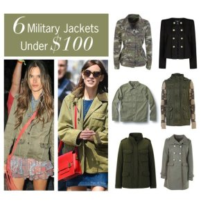 6 Military Jackets Under $100