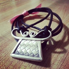 Woven Soul Lock Necklace