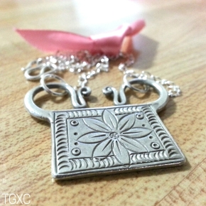 Lotus Soul Lock Necklace
